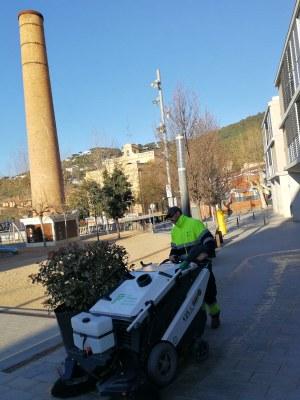 Premià de Dalt millora el servei de neteja viària amb dues escombradores elèctriques