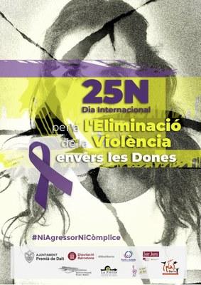 Premià de Dalt organitza diverses accions per commemorar el 25N