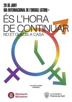 Premià de Dalt s'afegeix al Dia Internacional de l'Orgull LGBTI