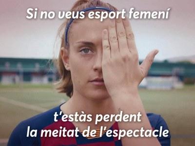 """Premià de Dalt se suma a la campanya """"Si no veus esport femení, t'estàs perdent la meitat de l'espectacle"""""""