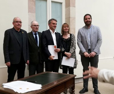 Premià de Dalt signa el Pacte contra la Segregació Escolar