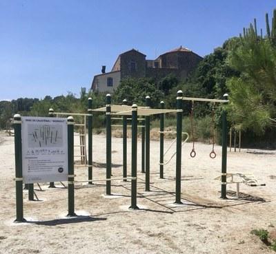 Premià de Dalt ja té un nou espai per a la pràctica del 'workout'