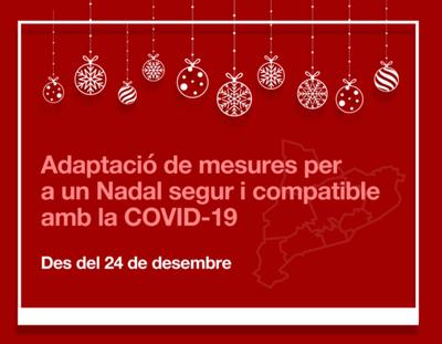 Quines mesures especials hi ha per les festes de Nadal a Catalunya?