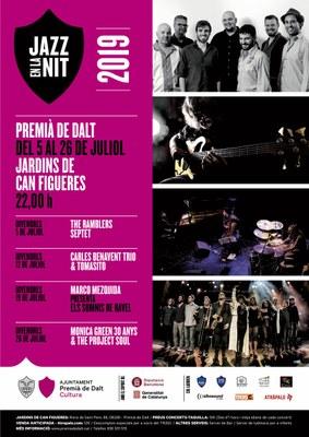 The Ramblers Septet posa en marxa el Jazz en la Nit 2019