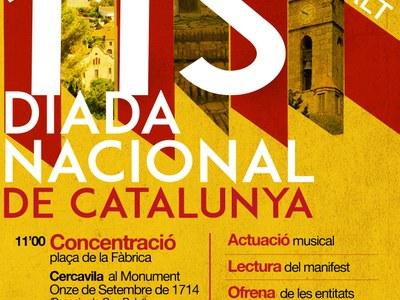 Un any més, Premià de Dalt celebrarà la Diada Nacional de Catalunya