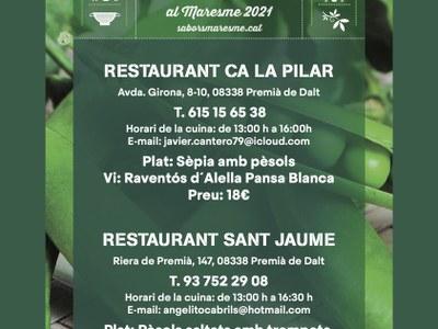 Voleu tastar la Perla verda del Maresme a Premià de Dalt?